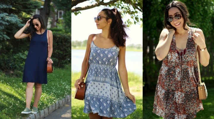 3 STAPLE DRESSES I WORE ALL SUMMER